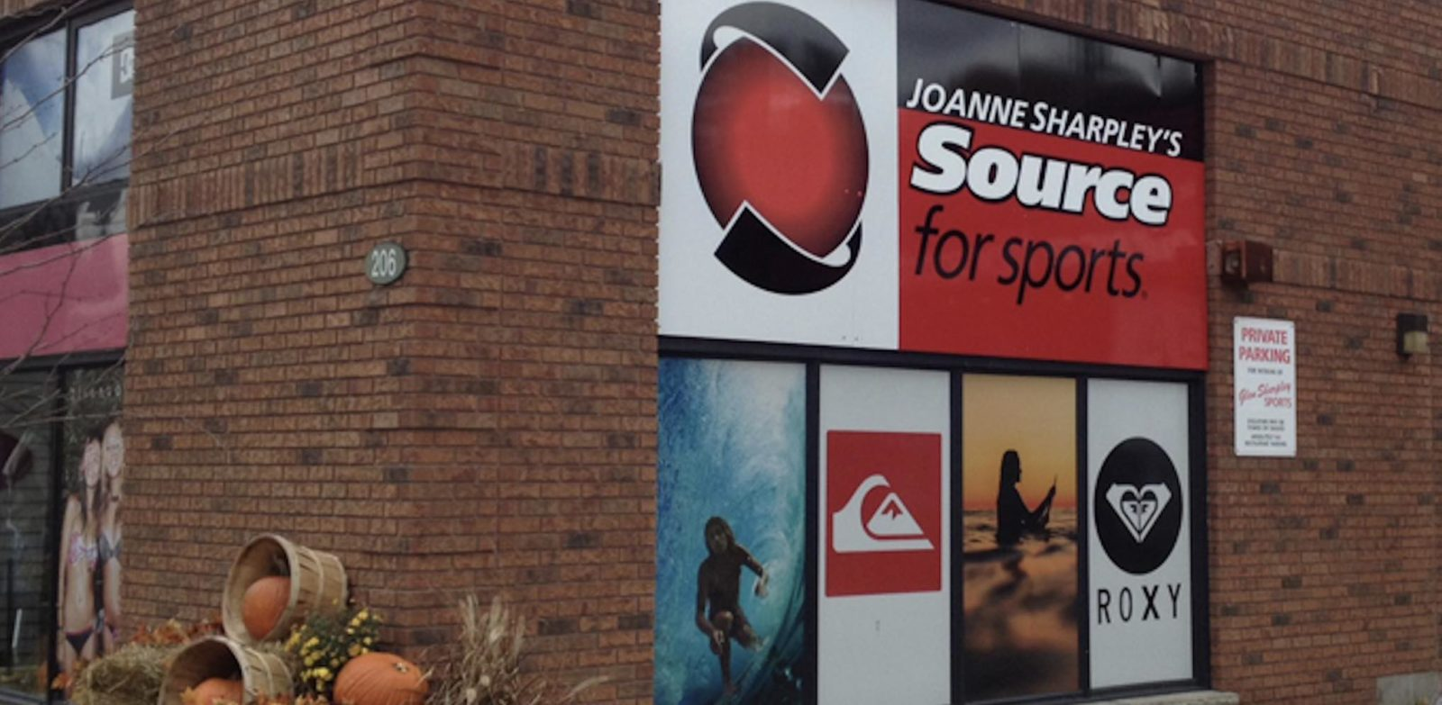 Joanne Sharpley's Source for Sports Source For Sports store front